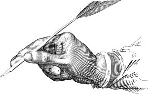איור של יד